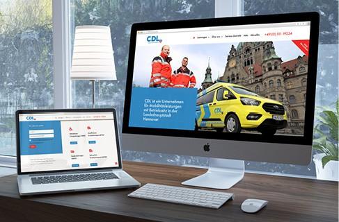 Die neue Website von CDL ist online